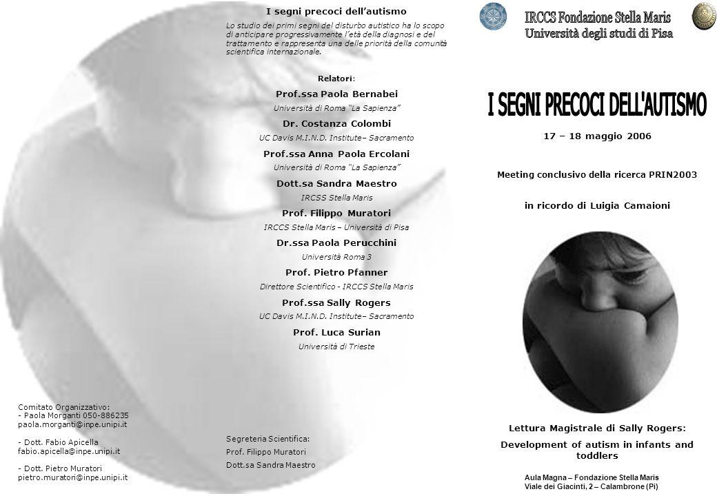 IRCCS Fondazione Stella Maris Università degli studi di Pisa
