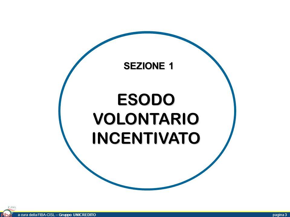ESODO VOLONTARIO INCENTIVATO