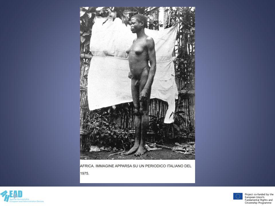 Immagine inserita per mostrare come il contesto culturale possa determinare la patologizzazione oppure no rispetto all' intersessualità.