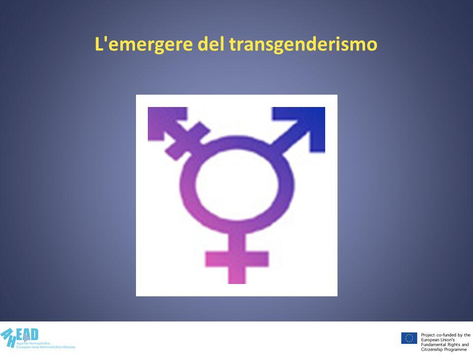 L emergere del transgenderismo