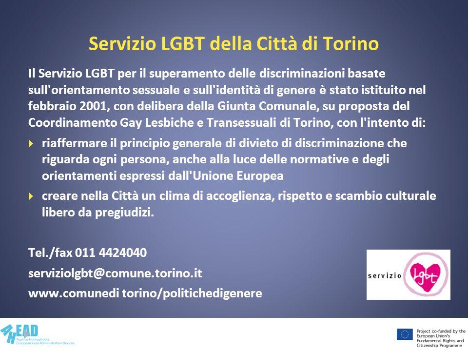 Servizio LGBT della Città di Torino
