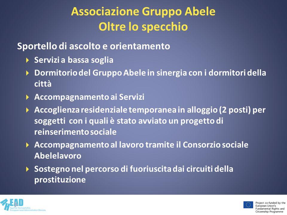 Associazione Gruppo Abele Oltre lo specchio