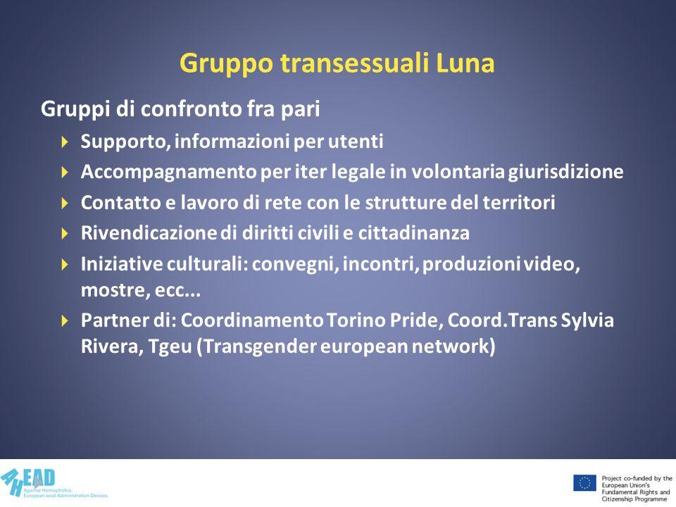 Gruppo transessuali Luna