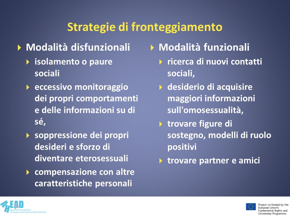 Strategie di fronteggiamento