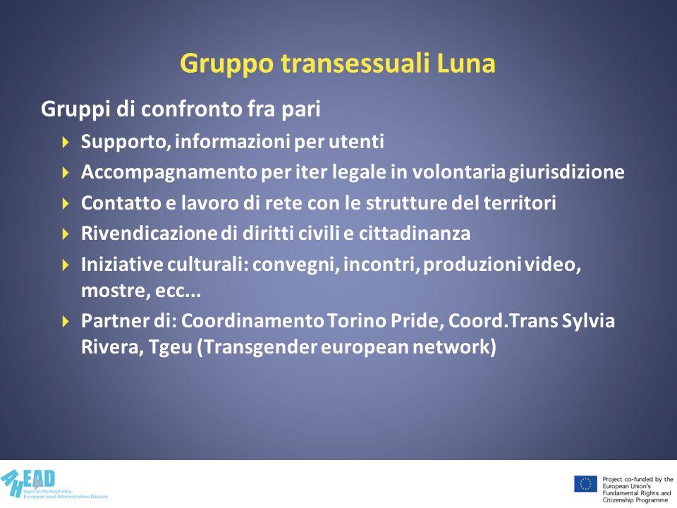 Contenuti del modulo IV Le buone pratiche professionali in caso di omofobia e transfobia