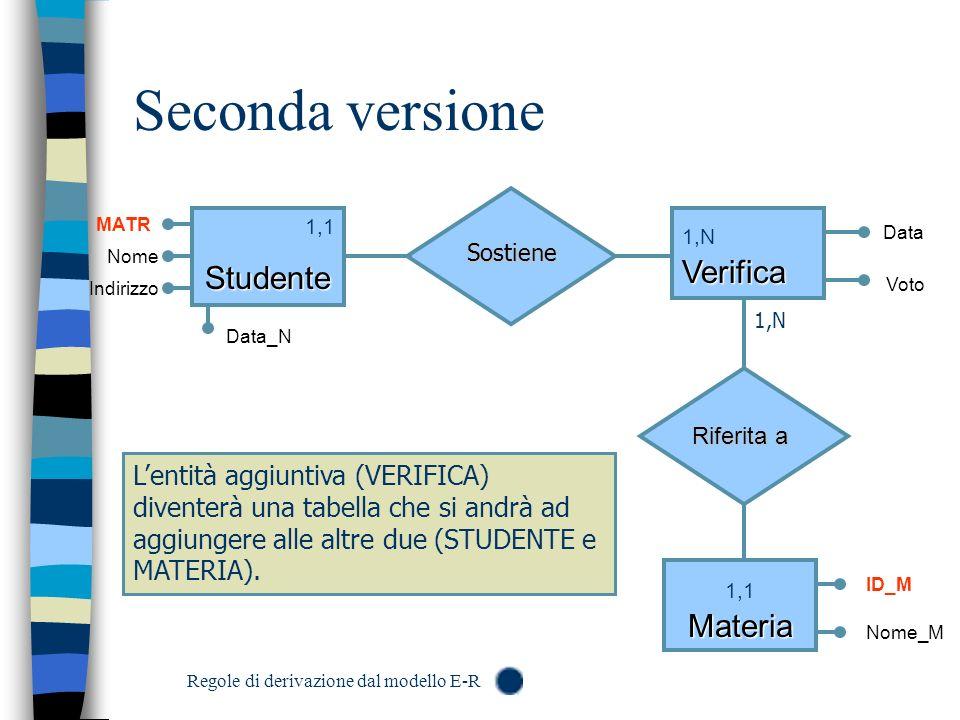 Seconda versione Studente