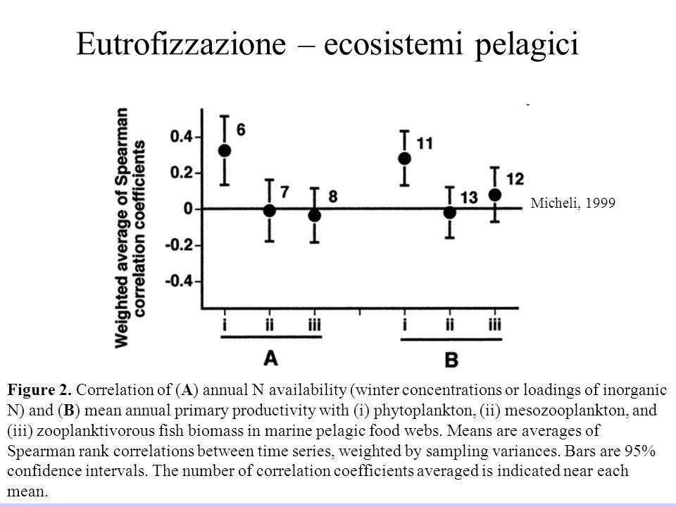 Eutrofizzazione – ecosistemi pelagici
