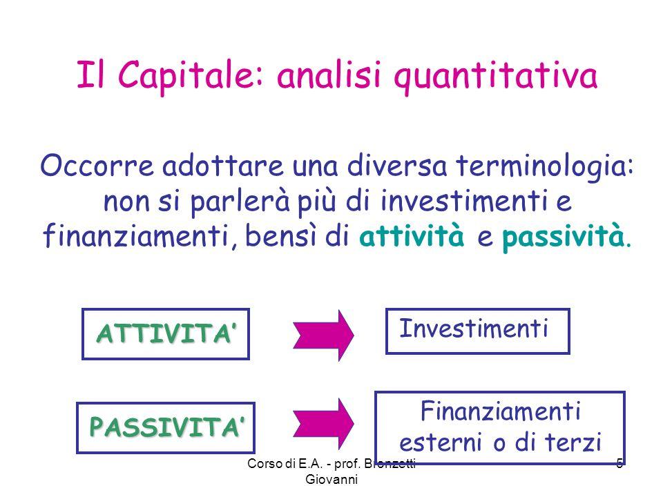 Il Capitale: analisi quantitativa
