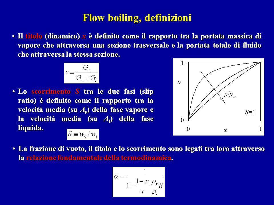 Flow boiling, definizioni