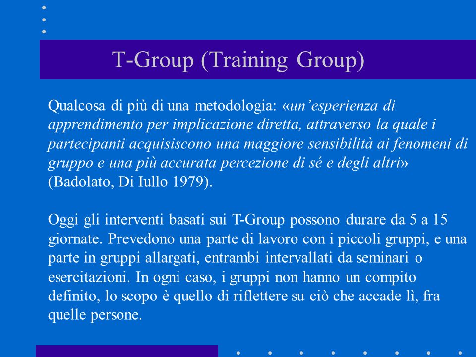 T-Group (Training Group)