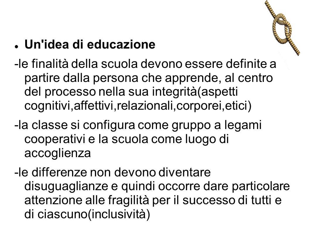 Un idea di educazione