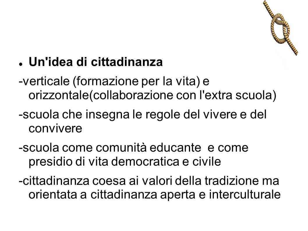 Un idea di cittadinanza