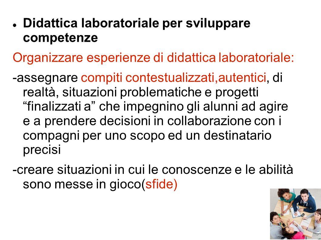 Didattica laboratoriale per sviluppare competenze