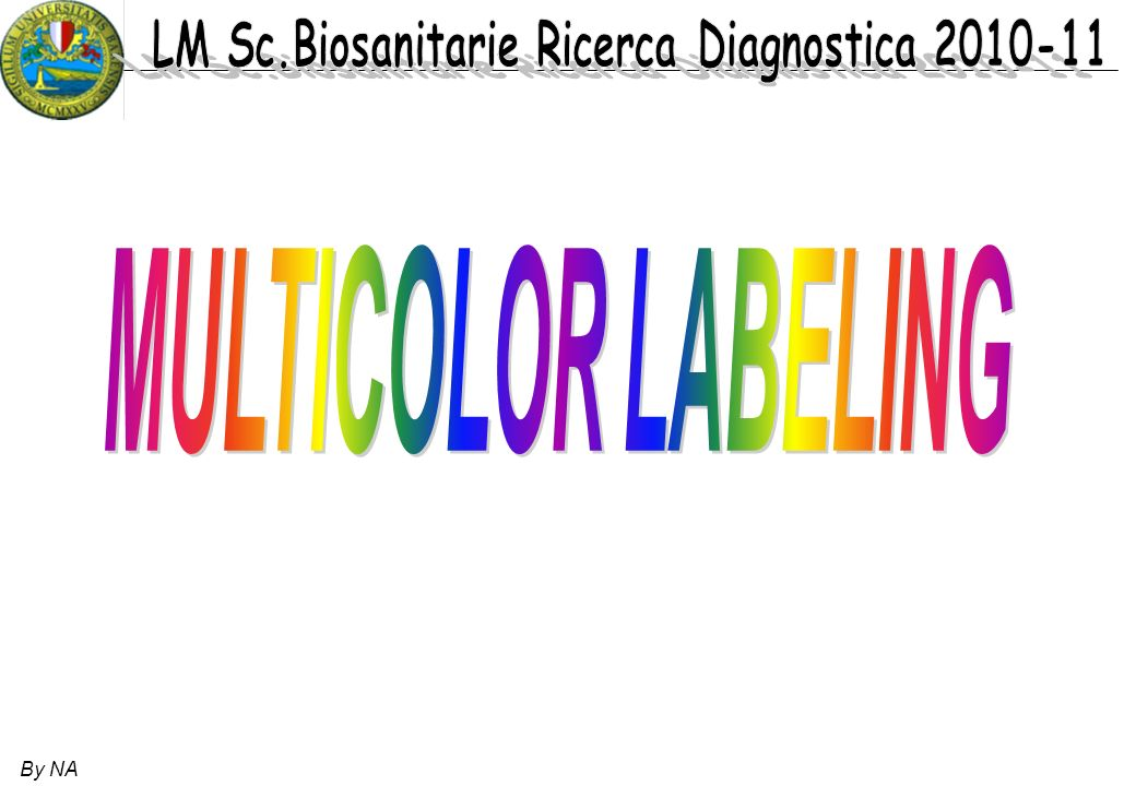 MULTICOLOR LABELING By NA