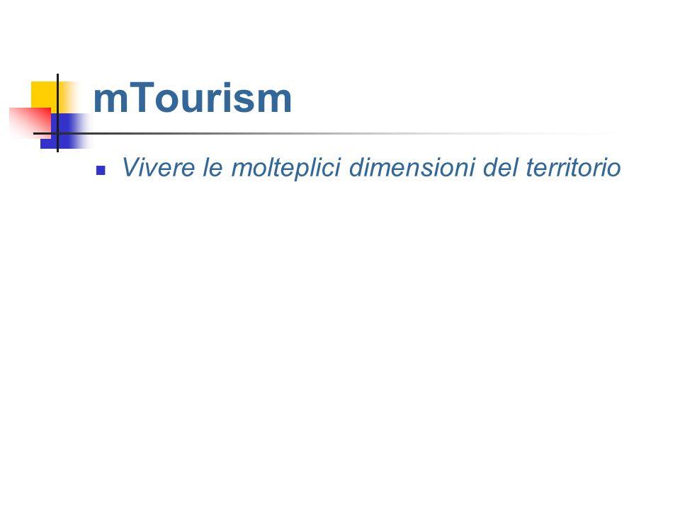 mTourism Vivere le molteplici dimensioni del territorio