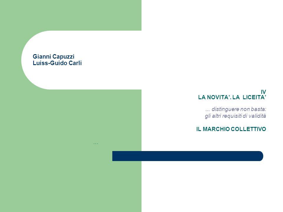 Gianni Capuzzi Luiss-Guido Carli