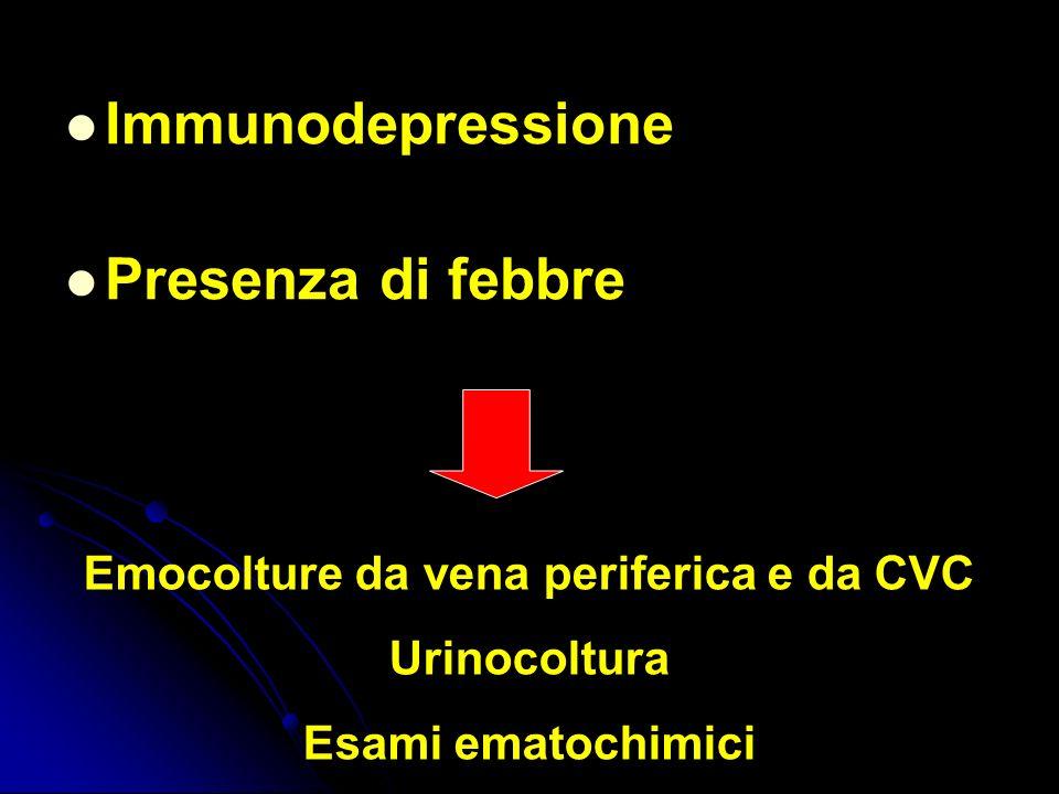 Emocolture da vena periferica e da CVC