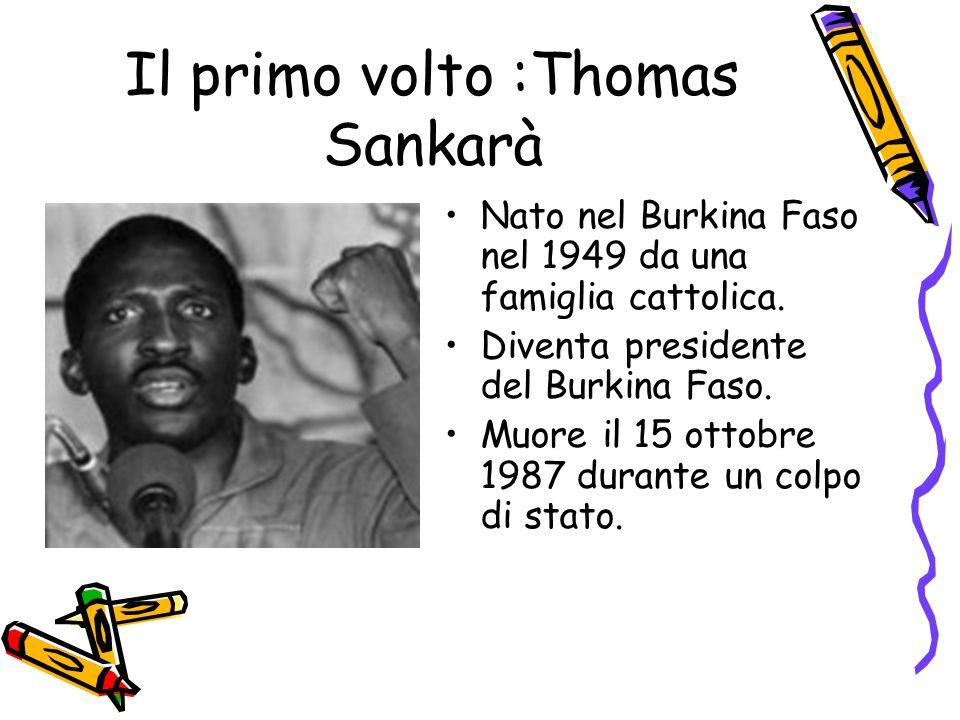 Il primo volto :Thomas Sankarà
