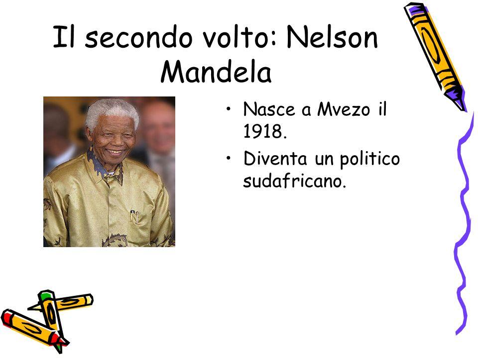 Il secondo volto: Nelson Mandela