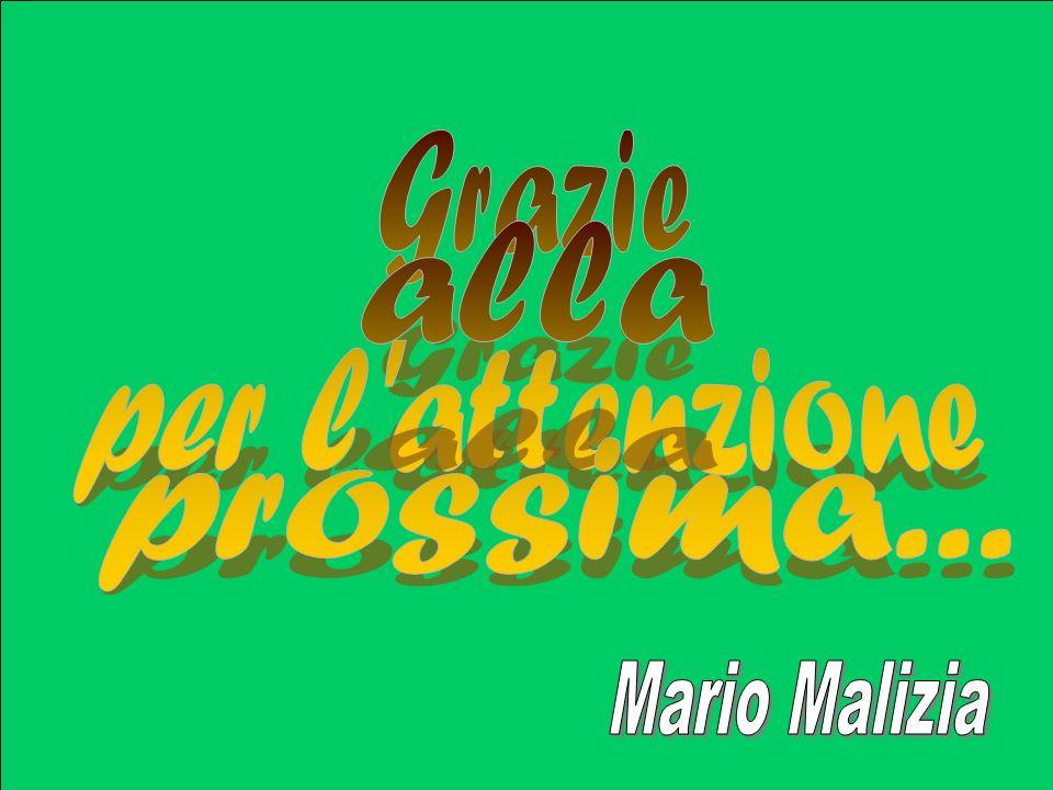 Grazie per l attenzione alla prossima... apprendimenti apprendimento Mario Malizia