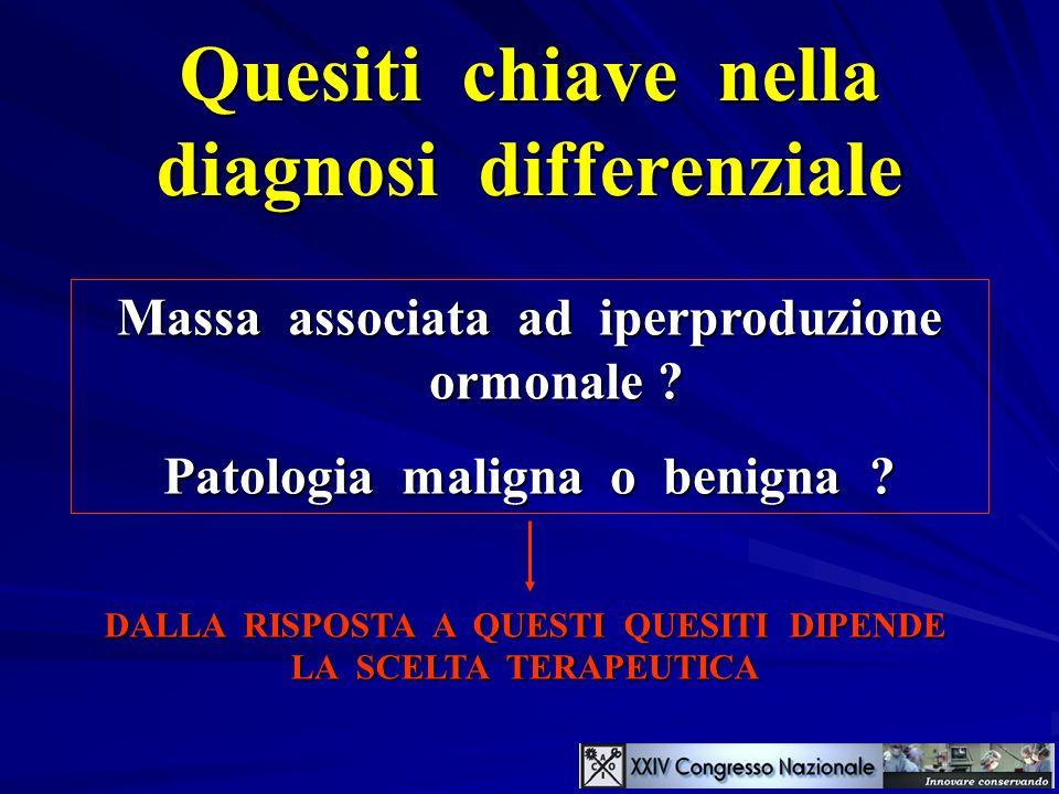 Quesiti chiave nella diagnosi differenziale