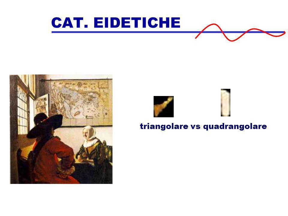 CAT. EIDETICHE triangolare vs quadrangolare