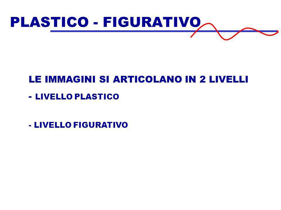 PLASTICO - FIGURATIVO LE IMMAGINI SI ARTICOLANO IN 2 LIVELLI
