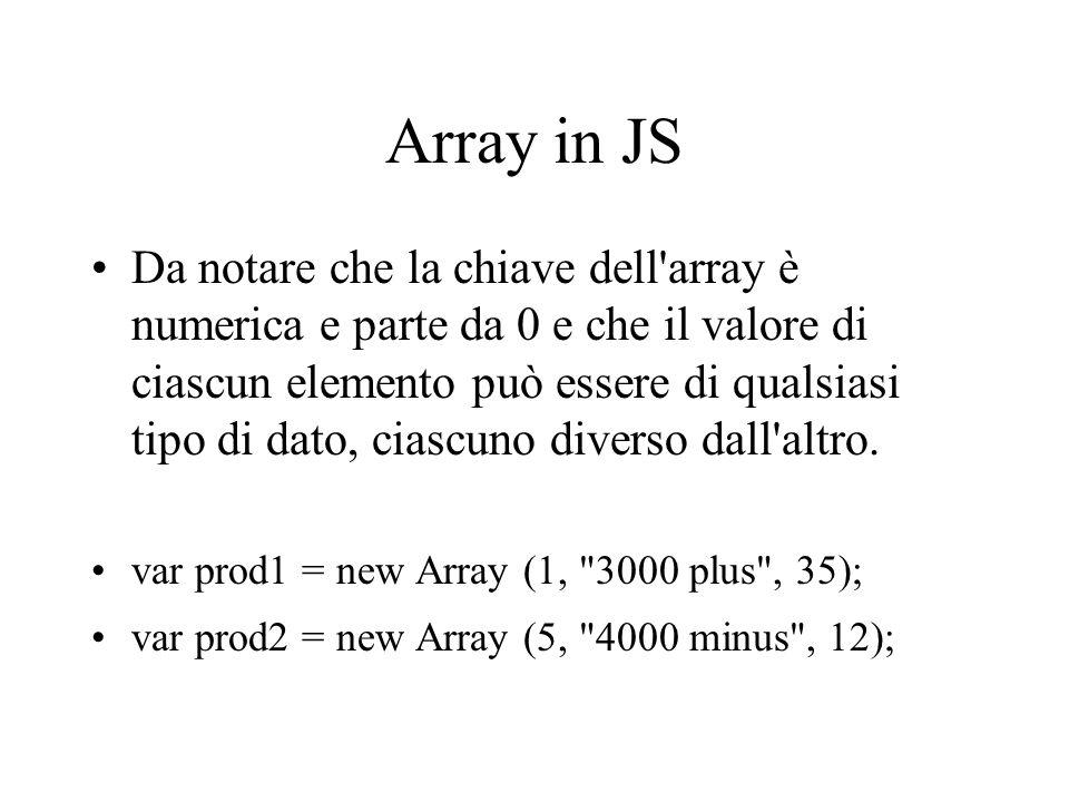 Array in JS