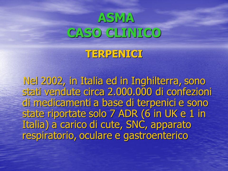 ASMA CASO CLINICO TERPENICI