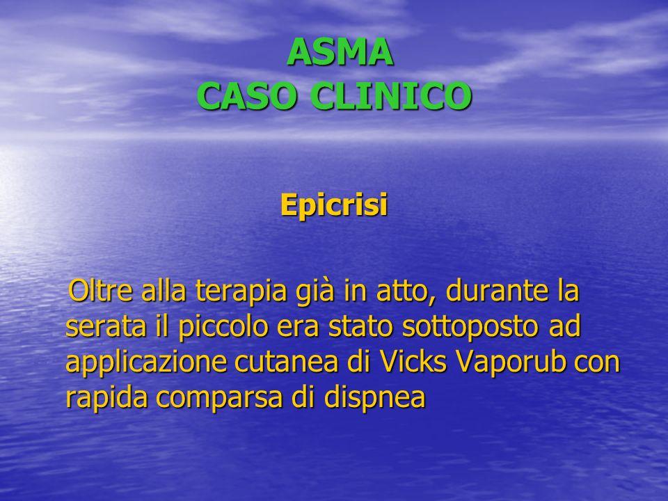 ASMA CASO CLINICO Epicrisi
