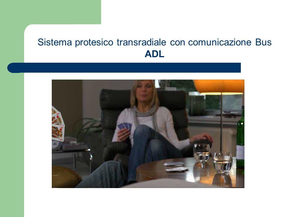 Sistema protesico transradiale con comunicazione Bus ADL