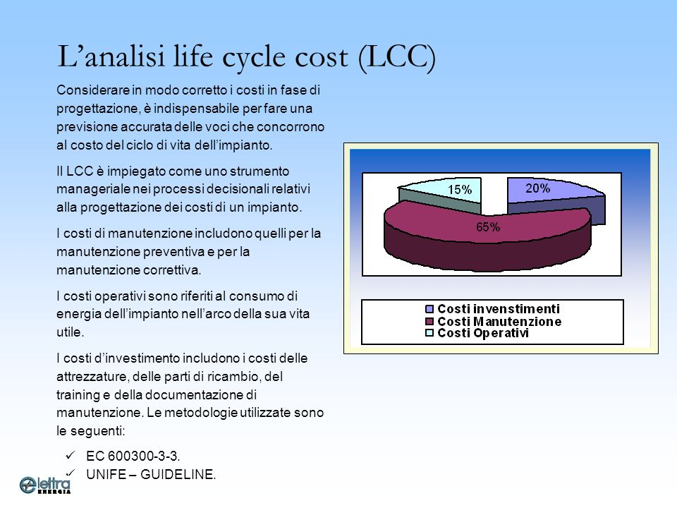 L'analisi life cycle cost (LCC)