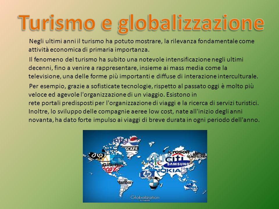 Turismo e globalizzazione