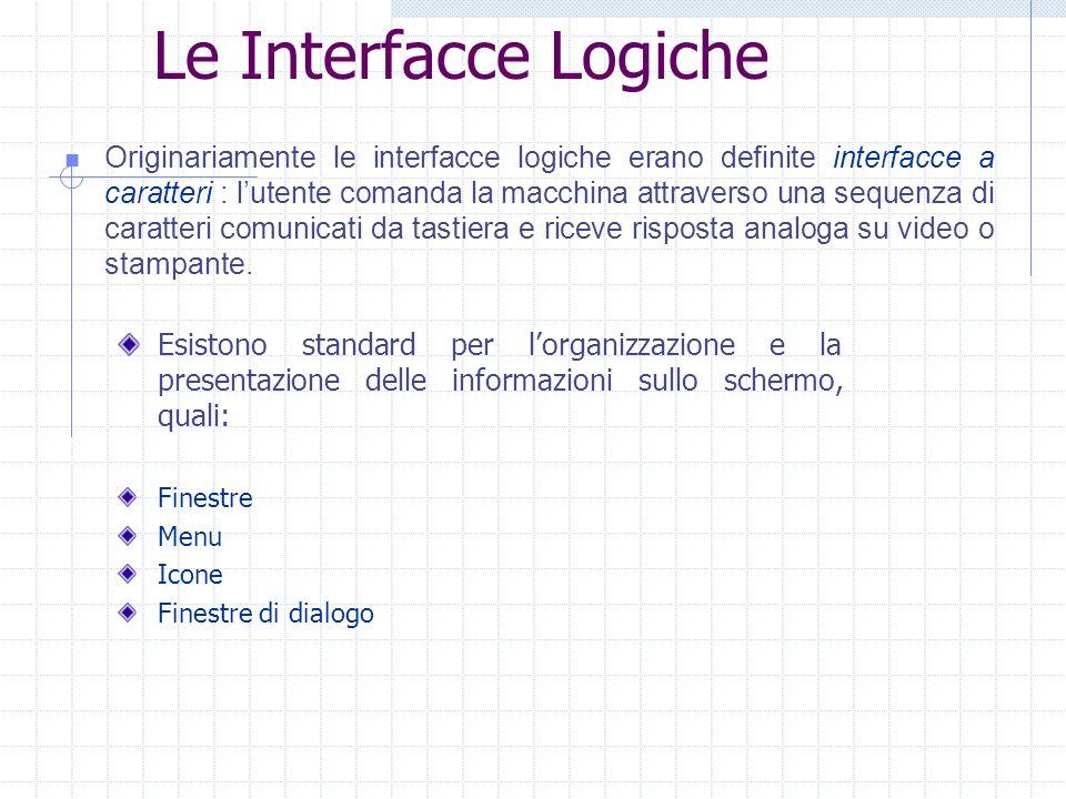 Le Interfacce Logiche