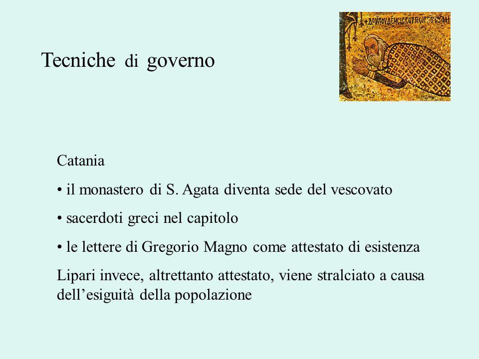 Tecniche di governo Catania
