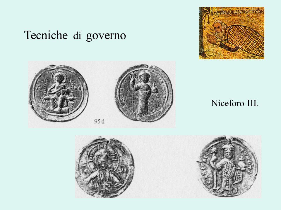 Tecniche di governo Niceforo III.