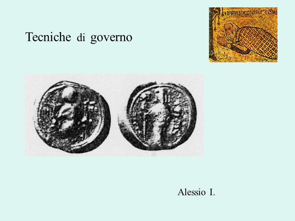 Tecniche di governo Alessio I.