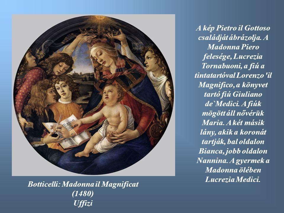 Botticelli: Madonna il Magnificat (1480)
