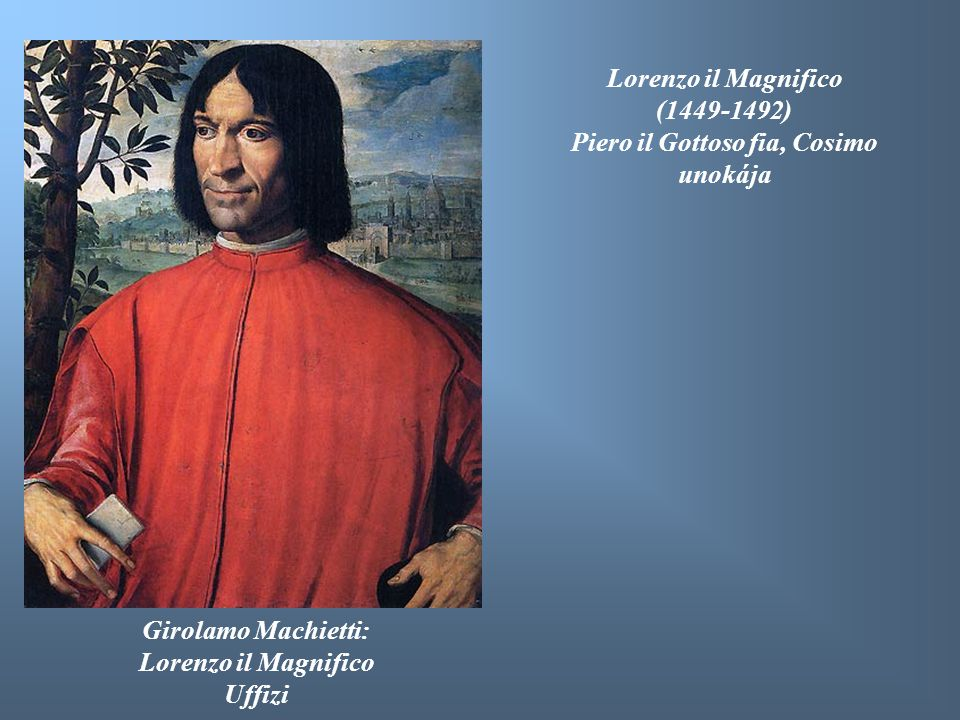 Piero il Gottoso fia, Cosimo unokája