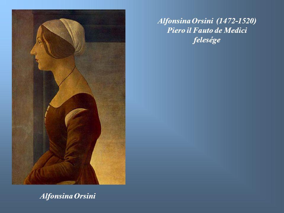Piero il Fauto de Medici felesége