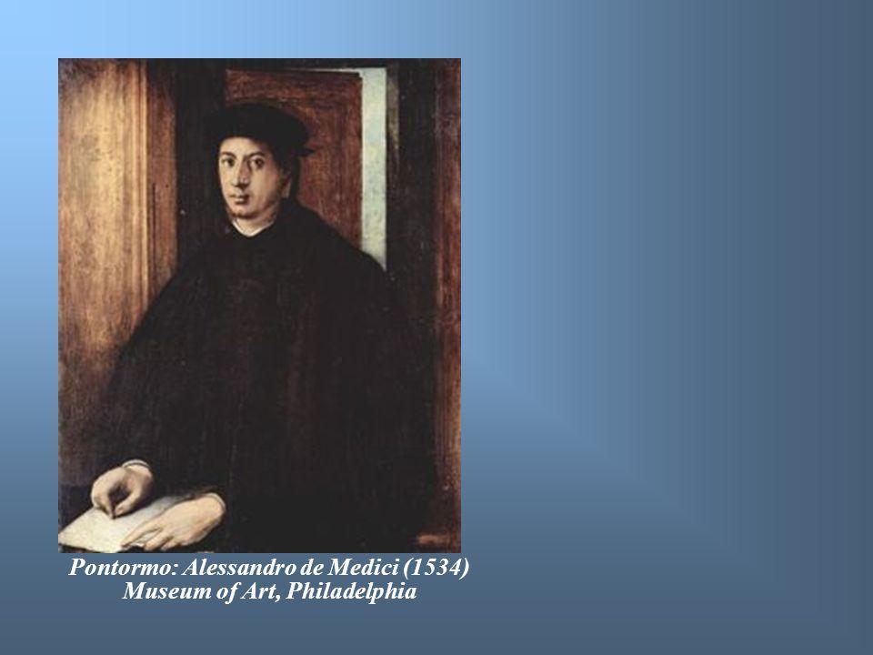Pontormo: Alessandro de Medici (1534) Museum of Art, Philadelphia