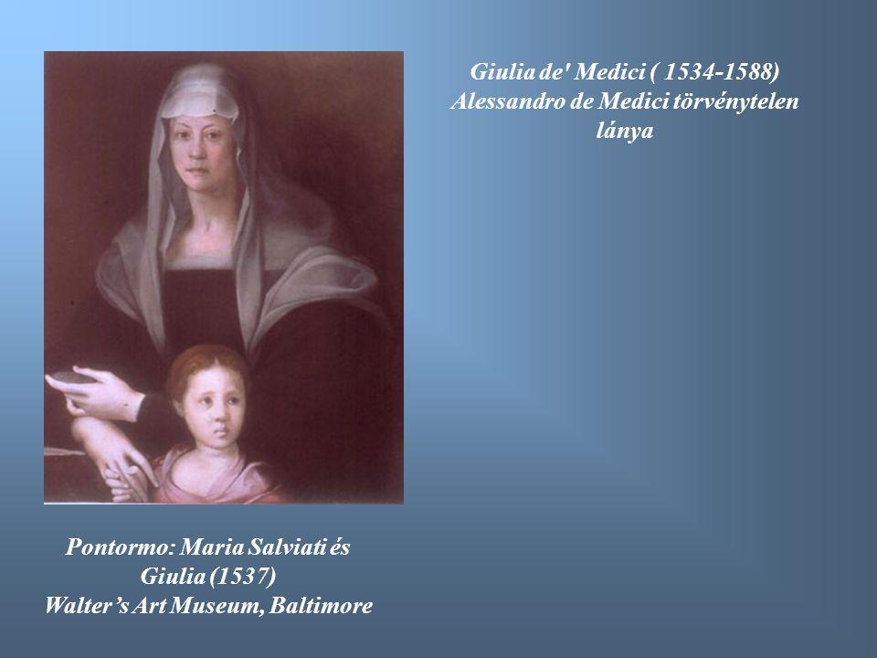 Alessandro de Medici törvénytelen lánya