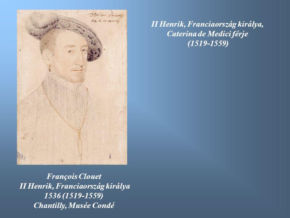 II Henrik, Franciaország királya, Caterina de Medici férje (1519-1559)