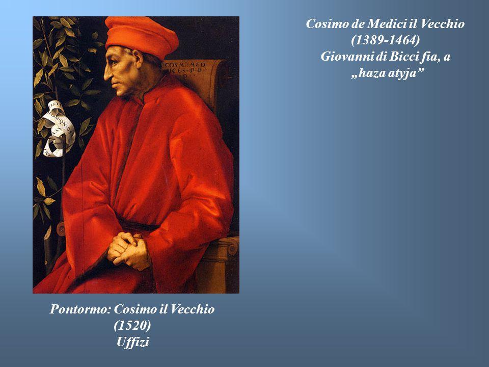 Cosimo de Medici il Vecchio Pontormo: Cosimo il Vecchio (1520)