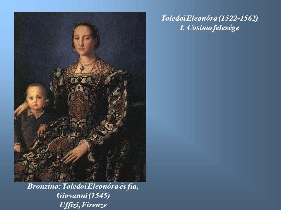 Bronzino: Toledoi Eleonóra és fia, Giovanni (1545)