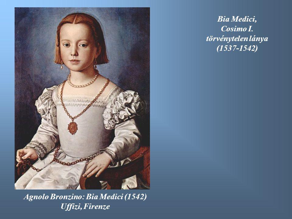 Agnolo Bronzino: Bia Medici (1542)