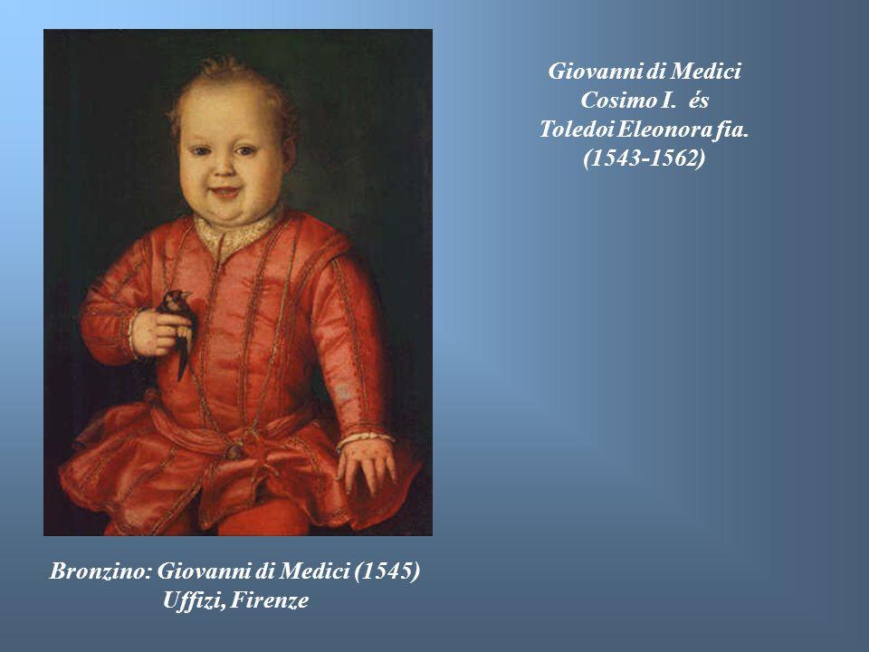 Bronzino: Giovanni di Medici (1545) Uffizi, Firenze