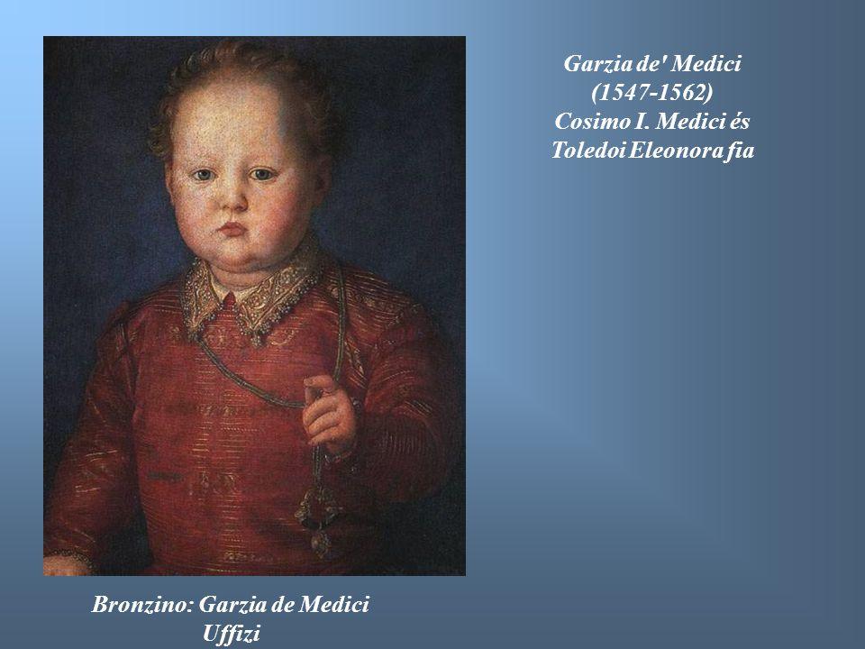 Cosimo I. Medici és Toledoi Eleonora fia Bronzino: Garzia de Medici