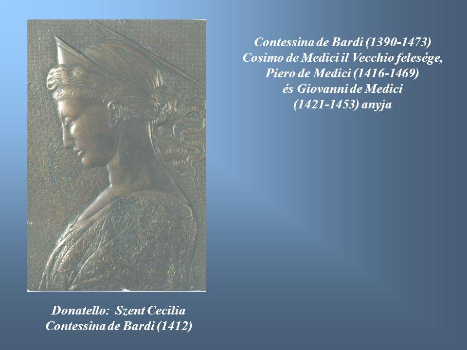 Contessina de Bardi (1390-1473) Cosimo de Medici il Vecchio felesége,