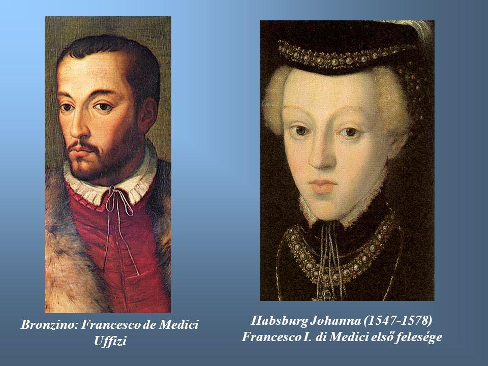 Francesco I. di Medici első felesége Bronzino: Francesco de Medici